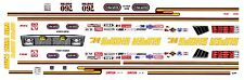 Pat Foster Super Shops Plymouth 1/64th HO Scale Slot Car Waterslide Decals