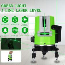 5 Line Laser Level 3D 360° Selbstnivellierend Linienlaser Kreuzlaser Measure EU