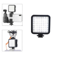 Mini LED Video Light Photography Fill Light 3 Hot Shoe for DJI Osmo Mobile 3