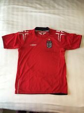David Beckham Signed Shirt England official Football 2004-2006 for charity