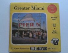 Greater Miami   View Master  S3 Packet  1955