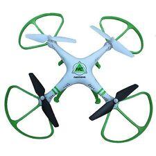 DRONE QUADRICOTTERO RADIOCOMANDATO 4 CANALI RADIO 2.4 GHZ 6 ASSI GIROSCOPIO LED