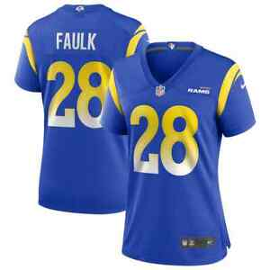 New NFL Marshall Faulk Los Angeles Rams Nike Women's Retired Player Game Jersey