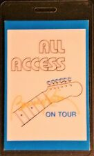 * Bonnie Raitt * Laminated All Access Backstage Pass - 1986 Tour - Vintage