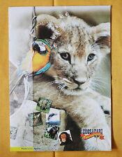 2003 Zoosafari Zoo Safari Fasanolandia 3 Cartoline Filateliche Italy folder