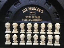 Cleveland Petrol Joe Mercer's GB Football Squad Busts 1970's FULL SET & STAND