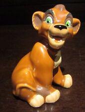 Rare Disney Kovu the Lion King Kiara Cub Ceramic Porcelain Figure Statue Display