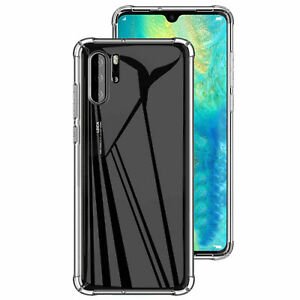 Case For Huawei P40 Pro Lite P 30 P Smart 19 Cover Clear Slim Silicon Shockproof