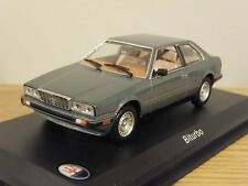 Nice 1/43 Maserati Biturbo Sedan Gray Leo Models  Bomporto Italia