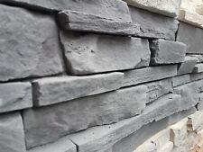 SAMPLE GRENADA 5 Stone  GRAPHITE Split Face Slate  Cladding Decorative Stone
