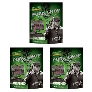 Primos Pork Chop Pig Attractant - Lot of 3 Bags - 12lbs Total - FREE SHIPPING!