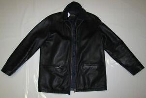 Vintage Herren Echt Leder Jacke Lederjacke der Marke TRAPPER Gr. 54 Sehr gut