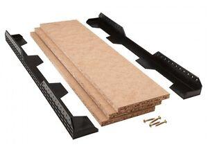 Loft Leg Loft Ledge Truss Shelf Kit With Boards Perfect For Attic Storage