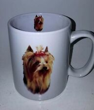 Yorkshire Terrier Puppy Large Coffee CupTaskets Yorkie Dog Ceramic