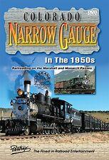 COLORADO NARROW GAUGE IN THE 1950s PENTREX NEW DVD VIDEO