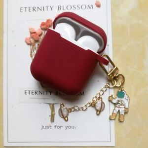 Luxury Cute Decoration Case For Airpods Protective Earphone Case with Key Ring