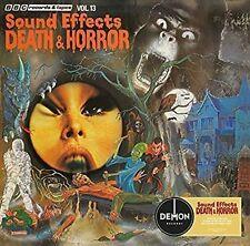 BBC Sound Effects Death & Horror Vinyl Mike Harding CD 5014797895157