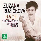 Zuzana Ruzicková - Bach: The Complete Keyboard Wo 2 CD Set New