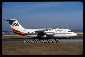 ORIG. AVIATION / AIRLINE SLIDE  AIR WISCONSIN  N605AW