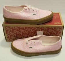 Vans Authentic Ice Cream Glitter Pink Shoes Women's Sz 7 New VN0A38EMVK2 NoLid