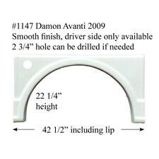 Damon RV Fender Skirt  FIBERGLASS  #1147 Polar White **SEE DESCRIPTION**