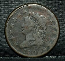 1808 Classic Head Large Cent ✪ Vf Very Fine ✪ 1C Scarce Coin L@K Now ◢Trusted◣