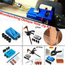 34X Hole Jig Kit Woodworking Wood Guide Drill Angle Hole Locator Craft