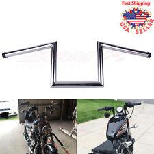 """Drag Handlebar 1"""" Z Bar Ape Hanger For Harley Sportster XL883 1200 Softail Dyna"""