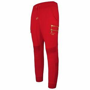 Puma x Balmain Womens Biker Sweatpants Track Pants Red 596886 11