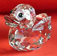 SWAROVSKI CRYSTAL HAPPY DUCK ANGEL 5080327 MINT BOXED RETIRED RARE