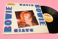 DAVID BOWIE LP ONLY ITALY COVER AND BOOKLET NM !