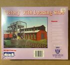 Factory with Loading Silos HO Scale 1:87 - #3503