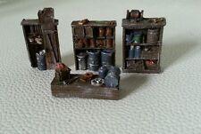 High detailed resin casting furniture By R&M suit HO OO gauge unpainted