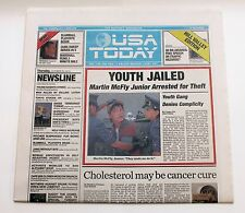 Back to the Future USA TODAY October 22, 2015 newspaper (excellent condition)