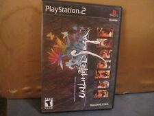 Unlimited SaGa (Sony PlayStation 2, 2003)CASE/DISC ONLY