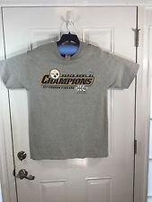 Pittsburgh Steelers Super Bowl XL Champions, T-shirt, grey, size L, NWT,