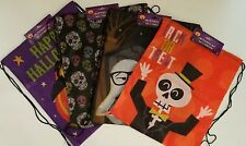 "Halloween Treat Bags Draw String Backpacks  14""x17"", 1 Bag/Pk, Select: Theme"