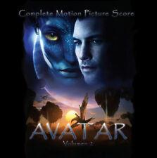 AVATAR 2CD - Volumen 2 - James Horner - Promo Rare OOP (4CD set)