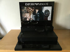 Used - Display Expositor EMPORIO ARMANI - For Watches Relojes - 40 x 39 x 36 cm