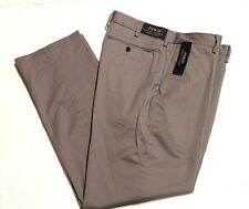 POLO RALPH LAUREN 710615758008 Stretch Classic Fit Pants Metal Grey SZ 34/34 NWT