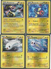 EELECTROSS (H)+EELEKTRIK (RH)+2 TYNAMO (RH) -4 EVO DARK EXPLORERS Pokemon Cards