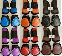 Horse Tendon & Fetlock Boots Jumping Leg Protection Boots Light Weight Support