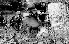 WW2 Photo German Sniper Team 98K Mauser WWII Germany  World War Two Wehrmacht