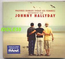 Johnny Hallyday, pauvres diables (vous les femmes), CD single digipack