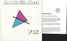 """BEAU AND THE ARROWS fix/calming effects HAPPY005 +release sheet 2011 7"""" PS EX/EX"""