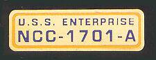Star Trek  NCC 1701-A Call Letters Cloisonné Pin  1032