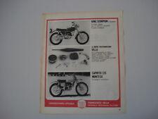 advertising Pubblicità 1970 MONTESA KING SCORPION/CAPRITO 125
