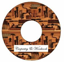Carpentry and Woodwork 148 vintage and antiquarian books on 1 DVD