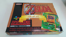 Zelda Gold Pack Big Box Holy Grail Super Nintendo Snes original