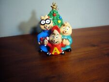 "VINTAGE 3.5"" ALVIN AND THE CHIPMUNKS CHRISTMAS ORNAMENT BAGDASARIAN"